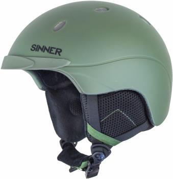 Sinner Titan Ski/Snowboard Helmet, L MT Moss Green