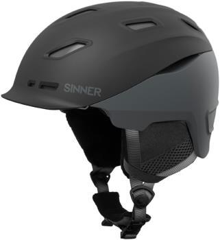 Sinner Moonstone Ski/Snowboard Helmet XL Matte Black/Grey