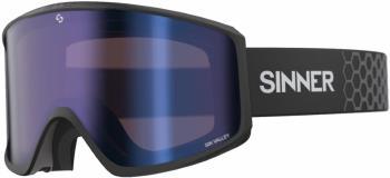 Sinner Sin Valley Blue/Orange Snowboard/Ski Goggles M Matte Black