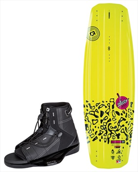 O'Brien Stiletto | Access Ladies Wakeboard Package, 140 | 1-4 Yellow