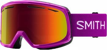 Smith Drift Red Sol-X Mirror Women's Snowboard/Ski Goggles, M Fuchisa