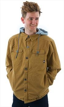 Saga Workwear Ski/Snowboard Insulated Jacket S Tobacco