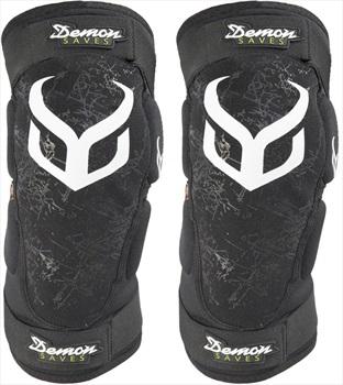 Demon Hyper Knee XD3O Ski/Snowboard Pads, L Black