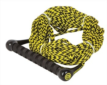 O'Brien Waterski Handle Rope Combo, 1 Section Yellow Black
