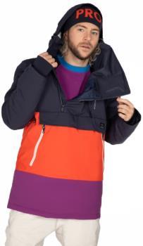 Protest Backflip Anorak Men's Ski/Snowboard Jacket, XL Eggplant