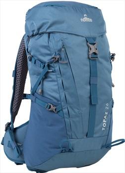 NOMAD® Adult Unisex Topaz Tourpack 26 Hiking Backpack, 26L Titanium