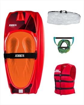 Jobe Streak Performance Kneeboard Package, Red 2020