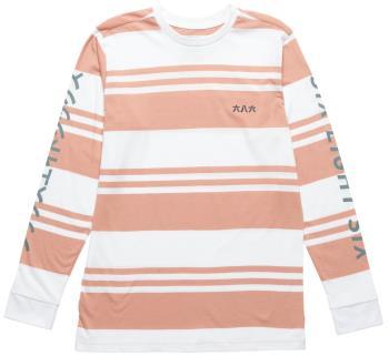 686 Borderless Japan Unisex Long Sleeve T-Shirt, M Coral Pink