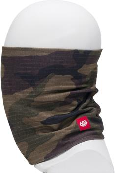 686 Double Layer Ski/Snowboard Face Warmer, OS Dark Camo