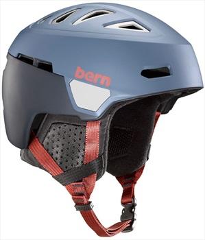 Bern Heist Ski/Snowboard Helmet, M Matte Denim