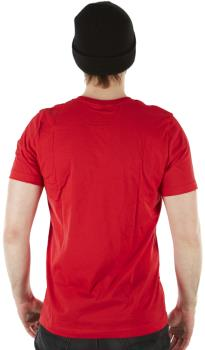 Howl Logo Short Sleeve Cotton T-Shirt, XL Red