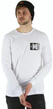 Howl Logo Long Sleeve Cotton T-Shirt, S White
