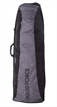 Liquid Force Roll-Up Wheeled Wakeboard Bag, 165cm Black Grey 2022