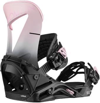 Salomon Hologram Women's Snowboard Binding, M Black/Pink 2020