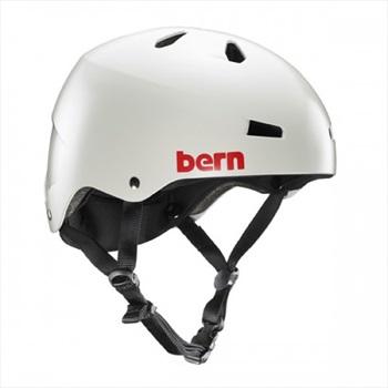 Bern Macon H2O Watersports Helmet, XL Satin Light Grey
