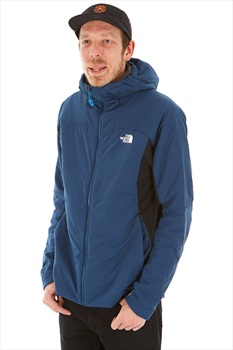 The North Face Ventrix Hybrid Hoodie Insulated Jacket, L Blue/Teal