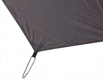 Force 10 Groundsheet Protector Helium 1 Tent Footprint, Smoke