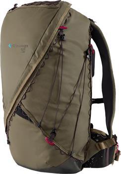 Klattermusen Hlin Day Pack Trekking/Hiking Backpack, 33L Green