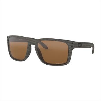 Oakley Holbrook XL Prizm Tungsten Polarized Sunglasses, Woodgrain