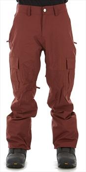 Bonfire Tactical Ski/Snowboard Pants, M Maroon