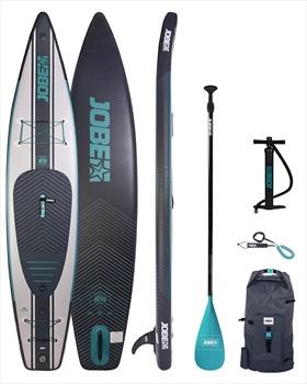 """Jobe Neva Touring ISUP Paddleboard Package, 12'6"""" Blue Grey 2021"""