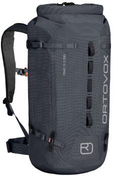 Ortovox Trad 28 S Dry Weatherproof Backpack/Rucksack 28L Black Steel