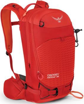 Osprey Kamber 22 M/L Ski/Snowboard Backpack, 22L Ripcord Red