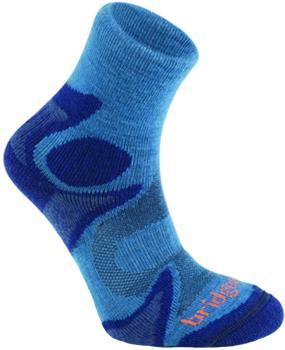 Bridgedale Trail Sport Lightweight T2 Men's Running Socks, XL Storm
