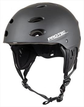 Pro-tec Ace Wake Watersport Helmet, M Black Rubber
