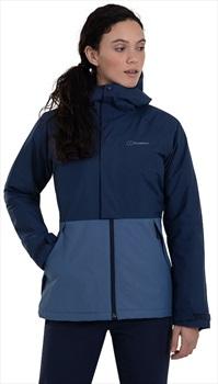 Berghaus Rhyna Insulated Women's Waterproof Jacket, S / UK 10 Indigo