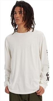 Burton Kilroy Long Sleeve T-Shirt, S Stout White
