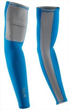 Mountain Hardwear WayCool UPF 25 Sun Protection Arm Sleeves, M Dark Compass