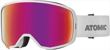 Atomic Revent Stereo Red Stereo Snowboard/Ski Goggles, L White