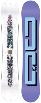 DC Biddy Women's Reverse Camber Snowboard, 140cm 2020
