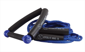 Hyperlite 25' Surf Rope With Handle, 25' Blue