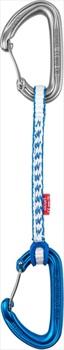 Ocun Kestrel QD Dyn 8 5 Pack Rock Climbing Quickdraw, 15cm Blue