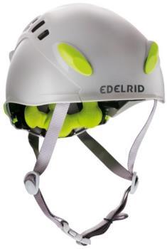Edelrid Adult Unisex Madillo Climbing Helmet, 52-62cm Pebble/Oasis