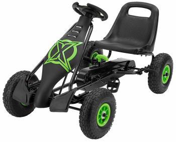 Xootz Viper Kid's Pedal Go-Kart, OS Black/Green