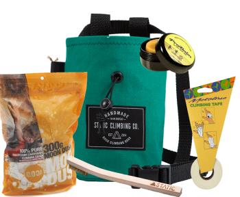 The Full Works Climbing Gift Set :Teal