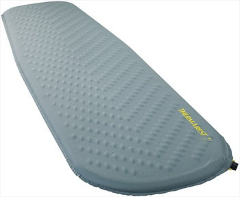 ThermaRest Trail Lite Self Inflating Camping Pad, Large Trooper Grey