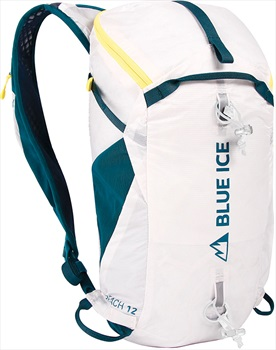 Blue Ice Reach 12l Backpack Mountaineering Pack, 12l Lightening White