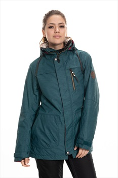 686 Spirit Womens Snowboard/Ski Jacket, S Deep Teal Heather
