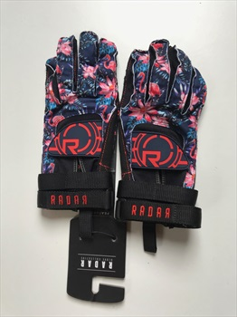 Radar Atlas Water Ski Gloves, XL Tropical