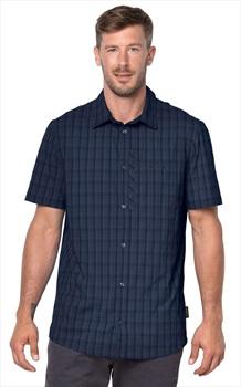 Jack Wolfskin Rays Stretch Vent Shirt Tech Top, L Night