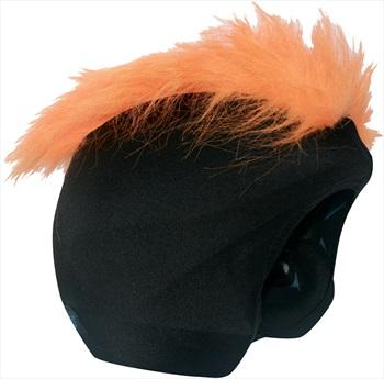 Coolcasc Show Time Ski/Snowboard Helmet Cover, One Size, Furry Orange