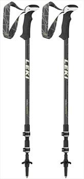 Leki Makalu Adjustable Trekking Poles, 110-145cm Black
