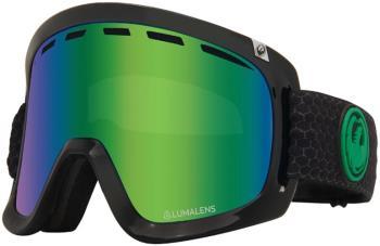 Dragon D1 OTG LumaLens Green Ion Snowboard/Ski Goggles, L Split