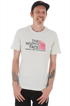 The North Face Raglan Easy Tee T-Shirt, S Vintage White