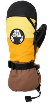 Crab Grab Cinch Ski/Snowboard Mitts, L Desert