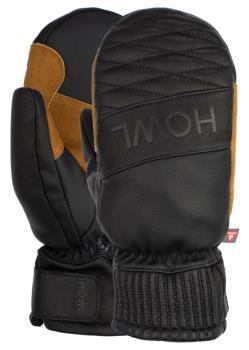 Howl Sexton Goat Skin Leather Ski/Snowboard Mitts, XL Black